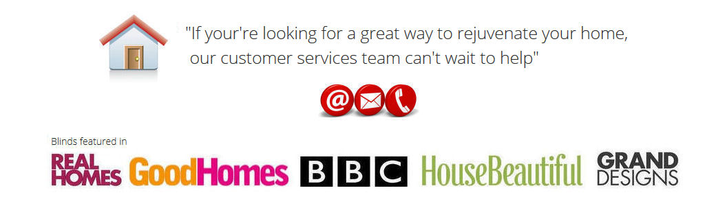 Our customer services team are here to help.