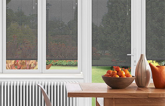 Grey Conservatory Blinds
