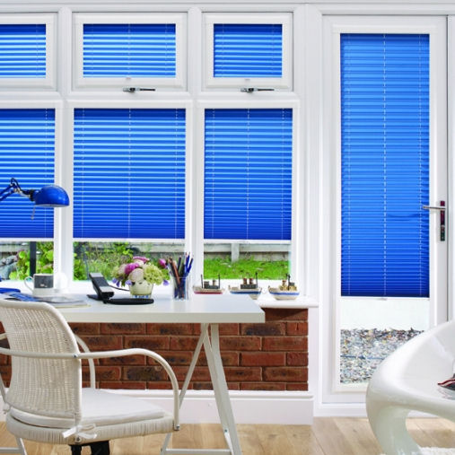 Perfect Fit Pleated Blinds