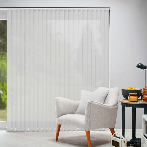 Arena Vertical Blinds Acacia