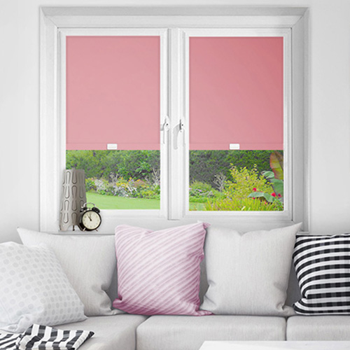 Pink Perfect Fit Blackout Blinds