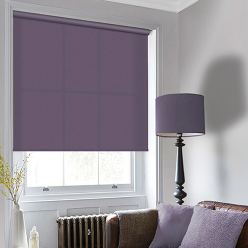 Purple Roller Blinds