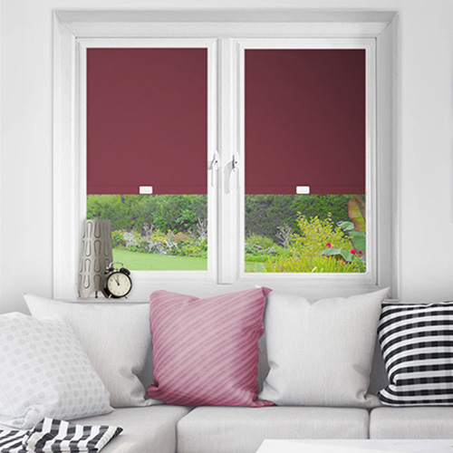 Purple Perfect Fit Blackout Blinds