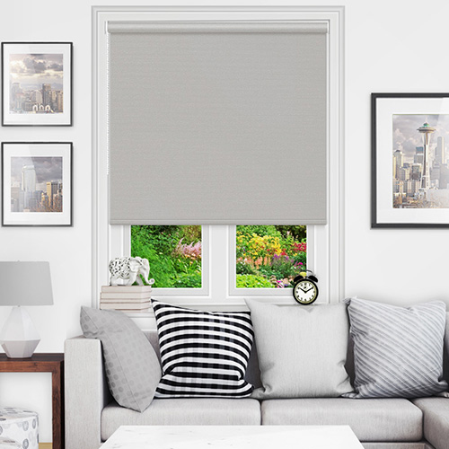 Silver Blackout Blinds