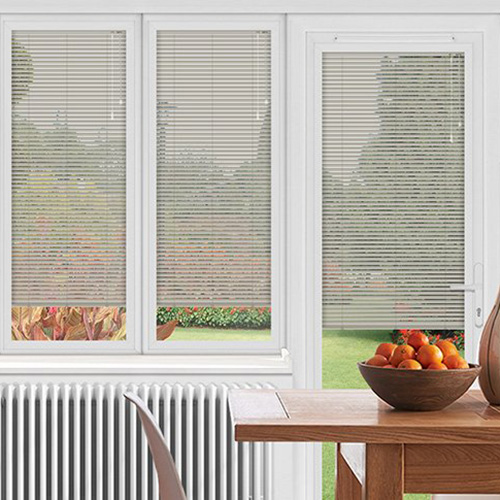 Silver Conservatory Blinds