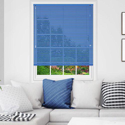 Blue Venetian Blinds