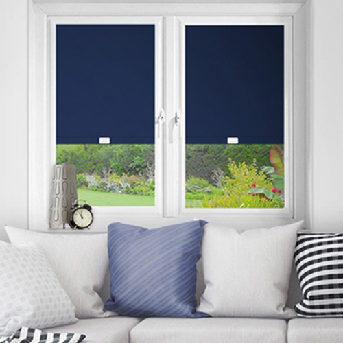 Blue Perfect Fit Blackout Blinds