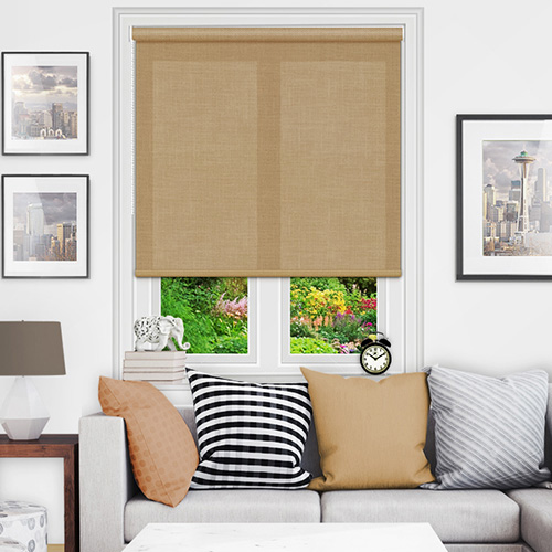 Brown Roller Blinds