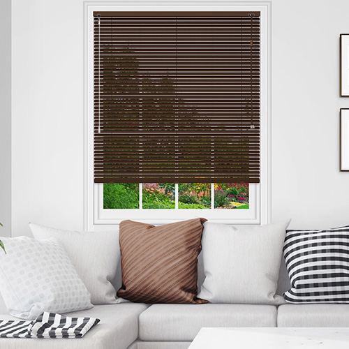 Brown Venetian Blinds