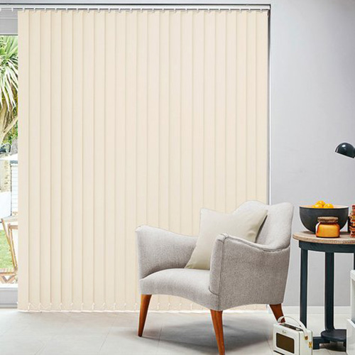 Cream & Natural Vertical Blinds