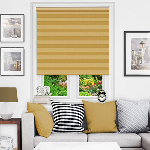 Gold Roller Blinds
