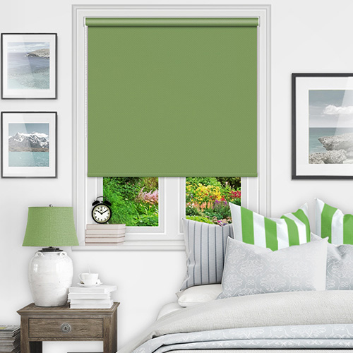 Green Blackout Blinds