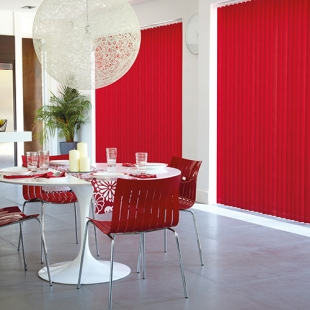 Fabric Box Vertical Blinds