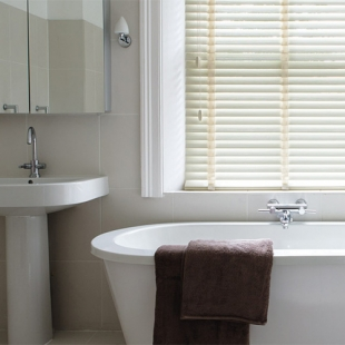 BATHROOM WOODEN BLINDS