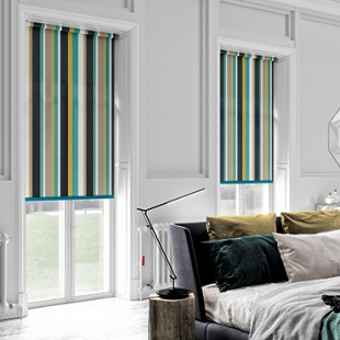 Striped Roller Shades