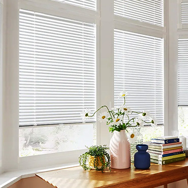White Perfect Fit Venetian Blinds