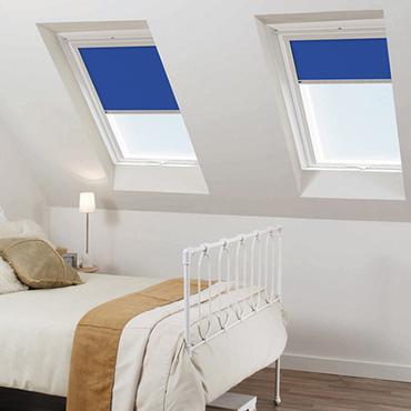 Blue KEYLITE Skylight Blinds