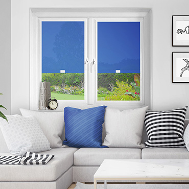 Blue Perfect Fit Roller Blinds