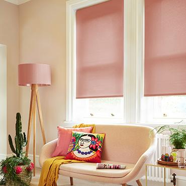 Pink Roller Blinds