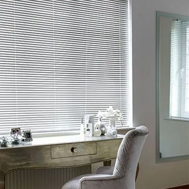 Grey Venetian Blinds