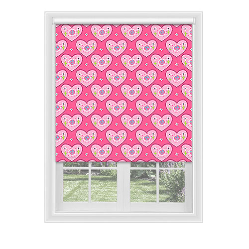 Lynton Hearts Lifestyle Childrens Blinds