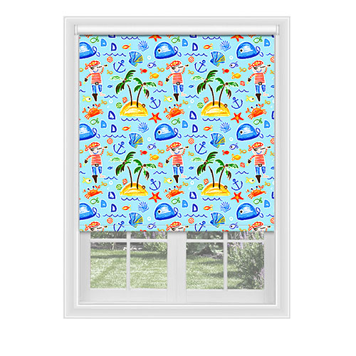 Pershore Pirate Lifestyle Childrens Blinds