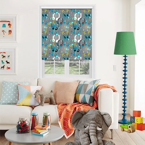 Rye Grey Lifestyle Childrens Blinds