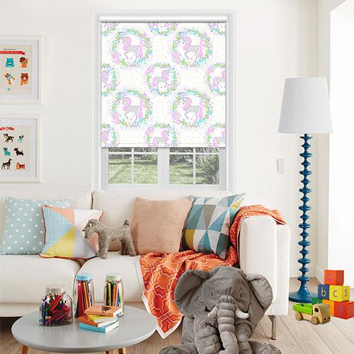 Unicorn Blush Lifestyle Childrens Blinds