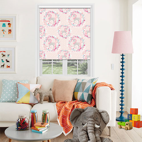 Unicorn Pink Lifestyle Childrens Blinds