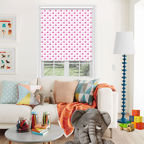 Washington Hot Pink Lifestyle Childrens Blinds
