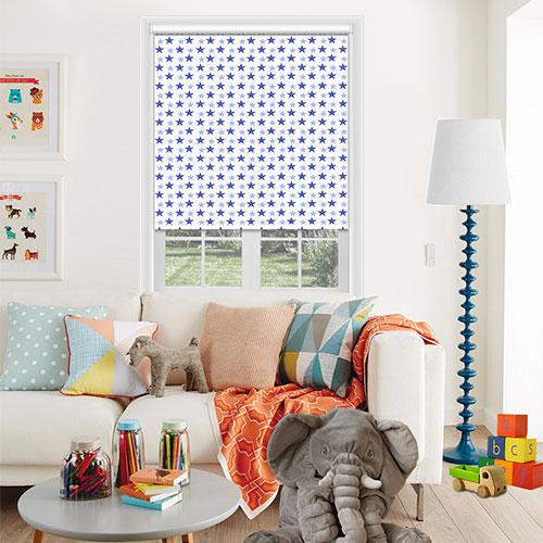 Washington Neon Blue Lifestyle Childrens Blinds