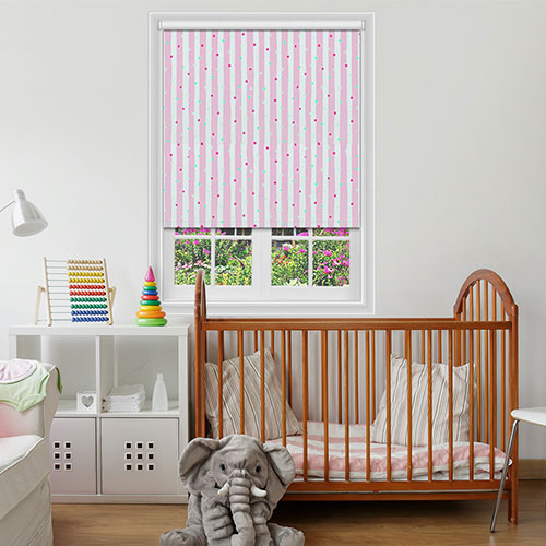 Charvil Rose Blackout Lifestyle Childrens Blinds