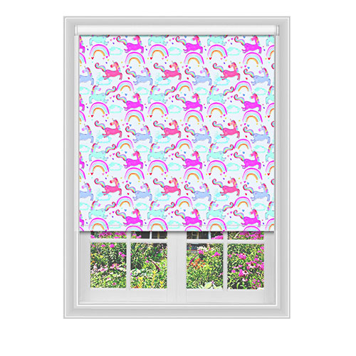 Classford Unicorns Blackout Lifestyle Childrens Blinds