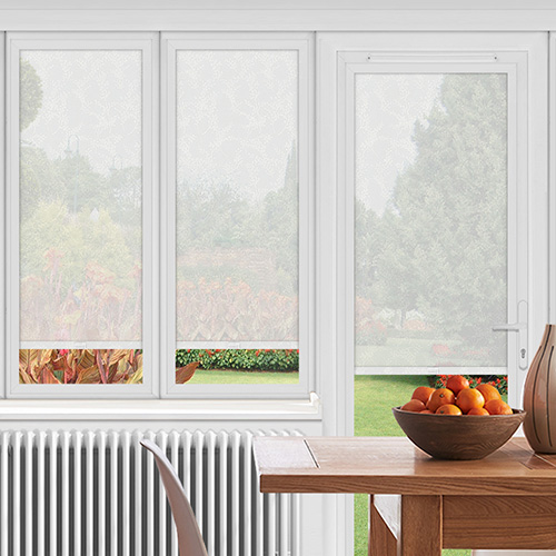EasyFIT Derrington White Lifestyle Conservatory Blinds