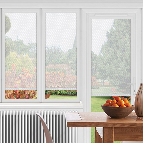 EasyFIT Langport White Lifestyle Conservatory Blinds