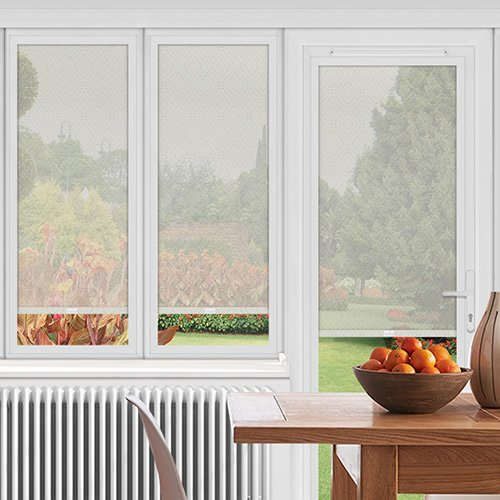 EasyFIT Moran Marshmallow Lifestyle Conservatory Blinds