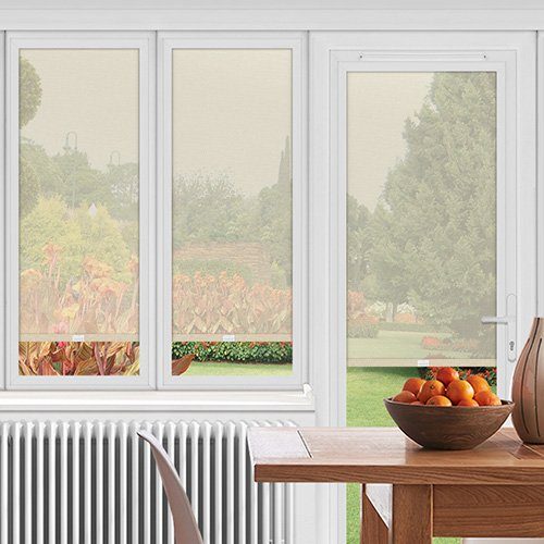 EasyFIT Redcar Cream Lifestyle Conservatory Blinds