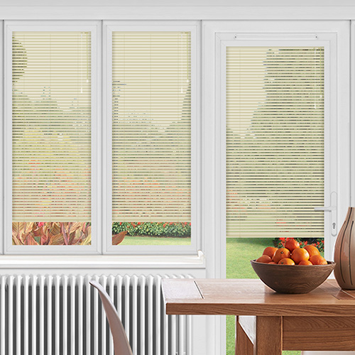 EasyFIT Calico Cream Lifestyle Conservatory Blinds