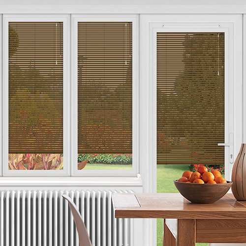 EasyFIT Conker Brown Lifestyle Conservatory Blinds