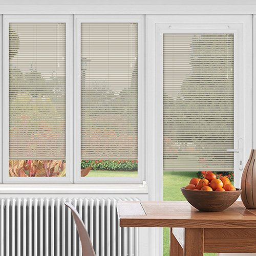 EasyFIT Fermanted White Lifestyle Conservatory Blinds
