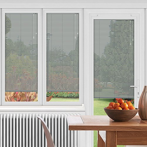 EasyFIT Gloss Grey Lifestyle Conservatory Blinds