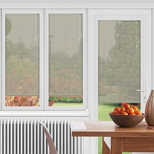 EasyFIT Grained Silver Lifestyle Conservatory Blinds