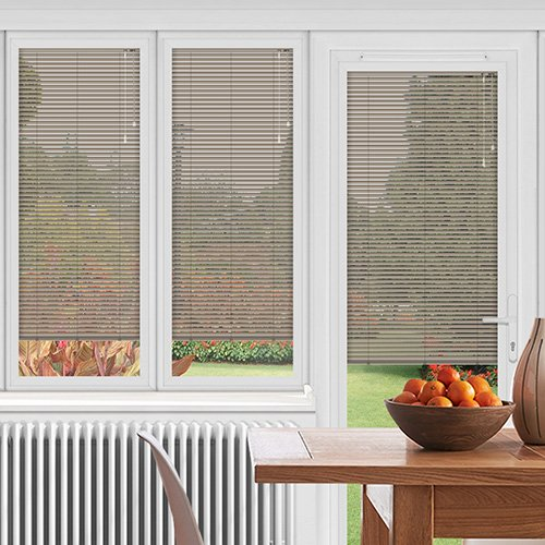 EasyFIT Latte Brown Lifestyle Conservatory Blinds