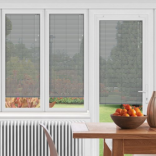 EasyFIT Metallic Silver Lifestyle Conservatory Blinds