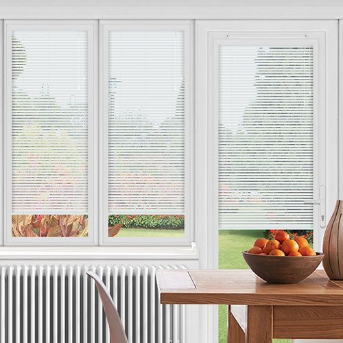 EasyFIT Sheen White Lifestyle Conservatory Blinds