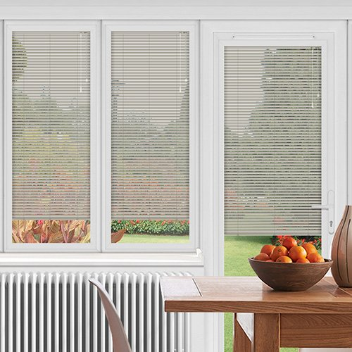 EasyFIT Stripy Silver Lifestyle Conservatory Blinds