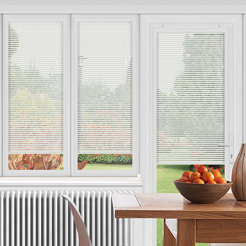 EasyFIT White Polar Matt Lifestyle Conservatory Blinds