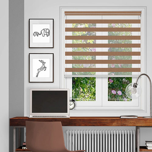 Coverham Hessian Lifestyle Day & Night Blinds
