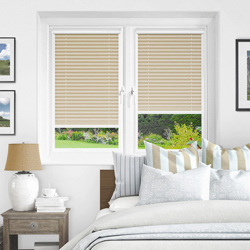 Infusion Asc Ivory Lifestyle INTU Pleated Blinds