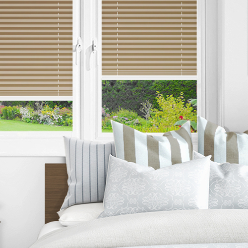 Beige PX4003 Lifestyle INTU Pleated Blinds